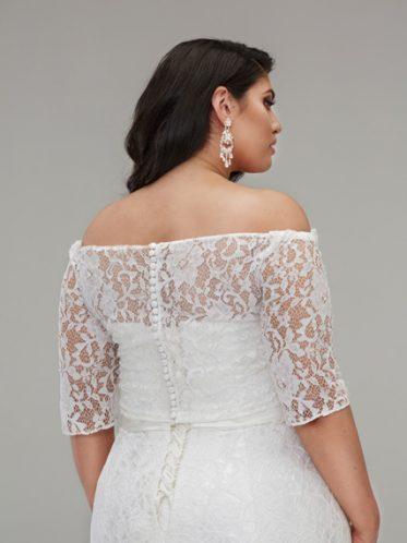 Mermaid wedding dresses plus size Zara