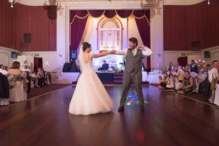 Sarra and Nicholas' Ballroom Wedding