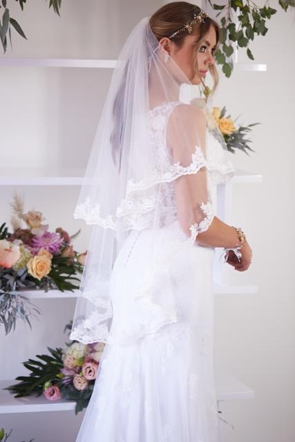 Chantilly veil