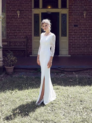 Davenport boho wedding dresses