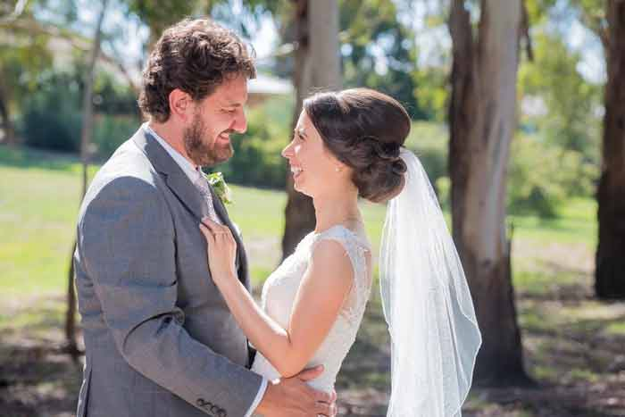 Sarra and Nicholas garden wedding