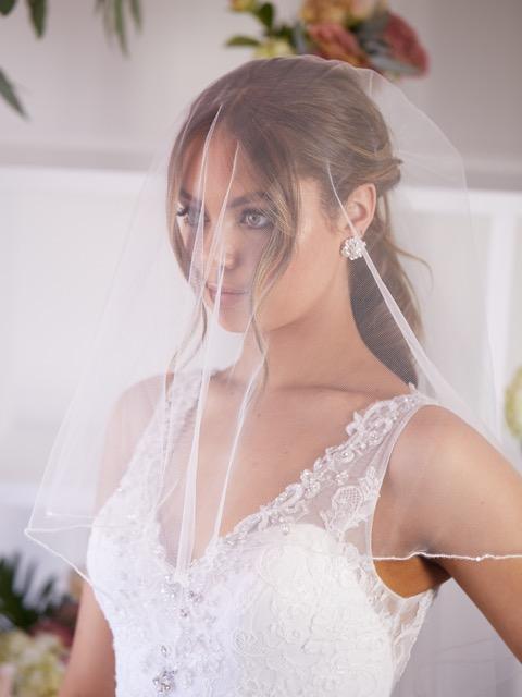 Tulle wedding veils
