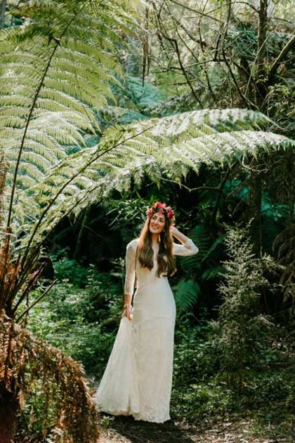 Dandenongs bride