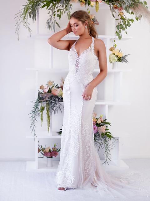 Pink blush wedding dresses Melbourne Melbourne