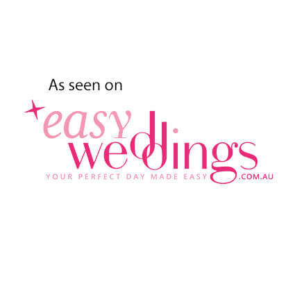 as featured on easy weddings