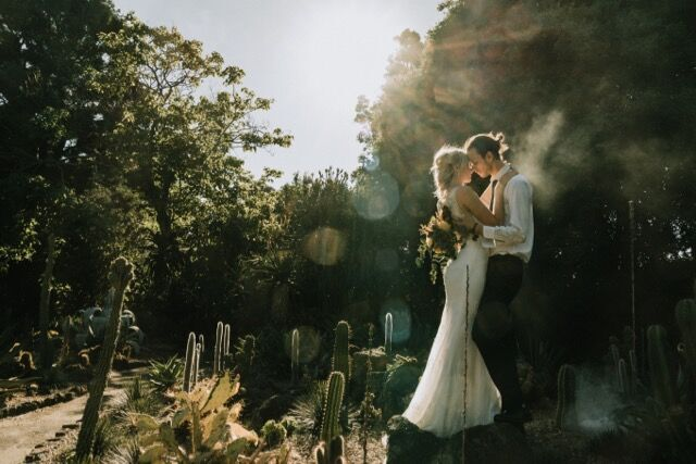 Botanical Gardens weddings afternoon