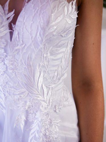 white lace detail deb dresses