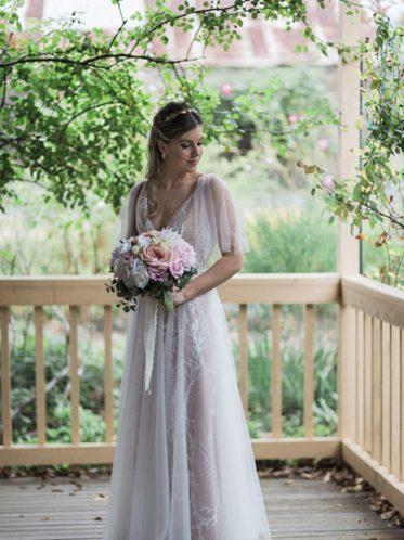 Marley soft boho wedding dresses
