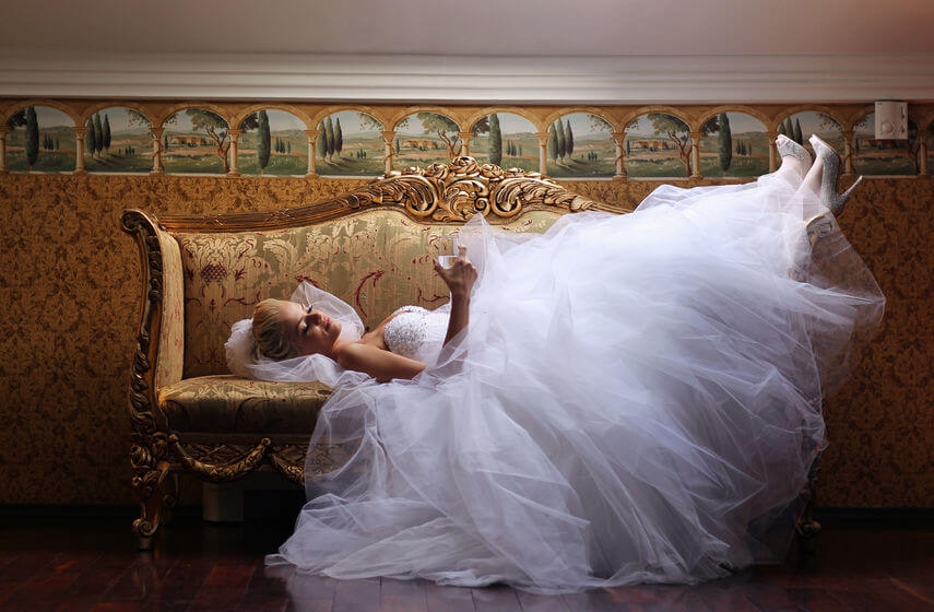 Wedding day tips Relax