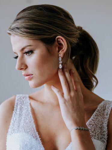 earrings for a bohemian bride