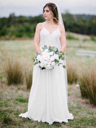 Flora bridal gown