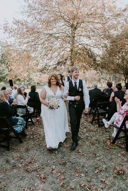 Jasmine and Karls marriage