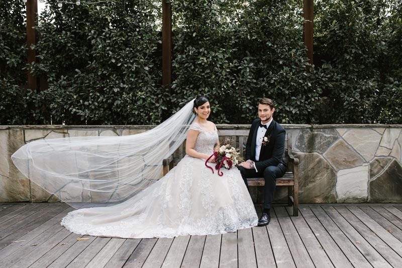 Wedding veils in Melbourne