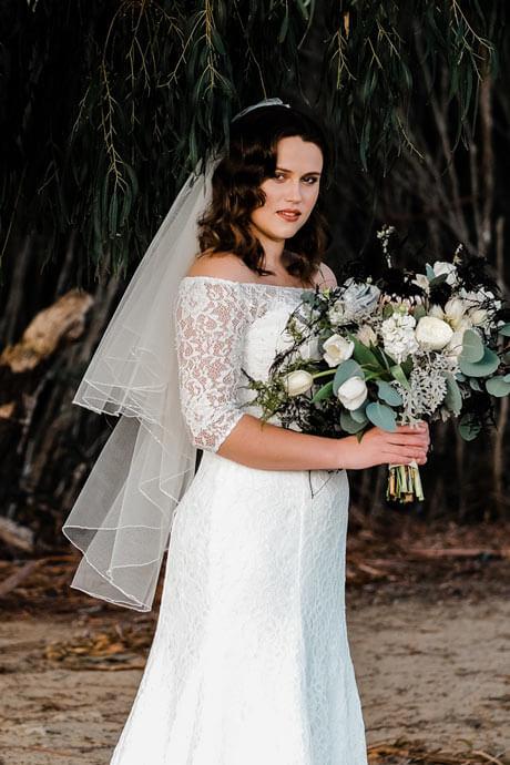 Pretty wedding veils