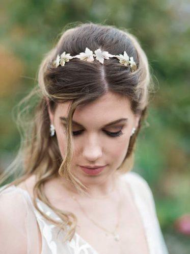 Ivy headband wedding jewellery