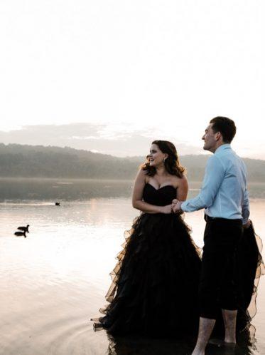 Black wedding dress Vera