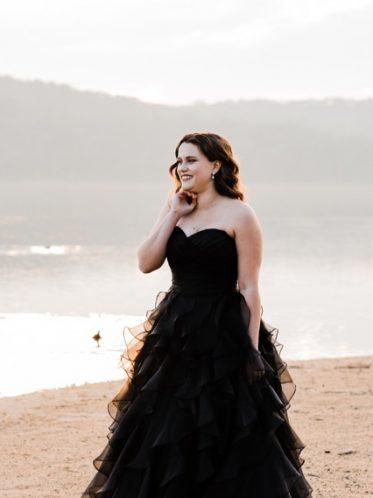 Vera Black wedding dresses