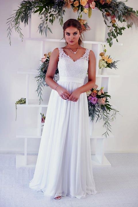 Flure ready to wear wedding gown