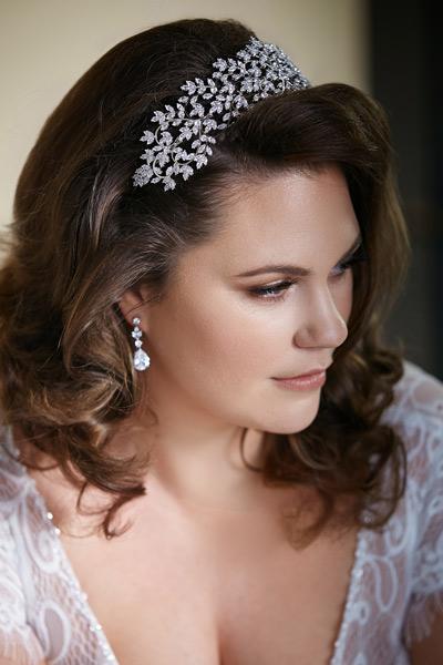 Amelia bridal headband