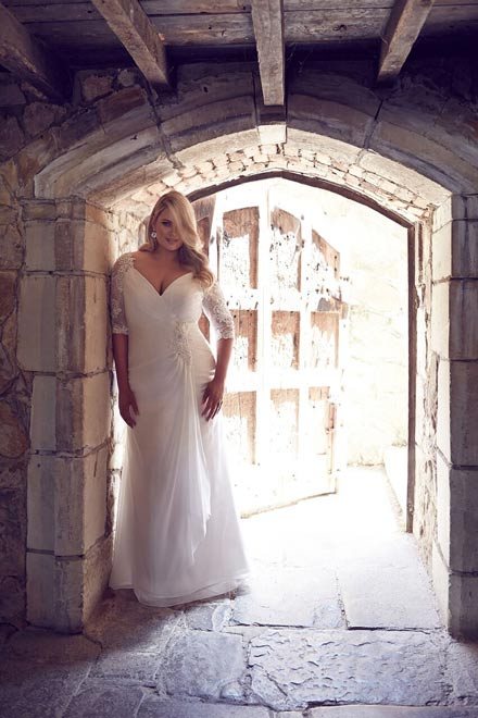 Long sleeve wedding dresses Odessa
