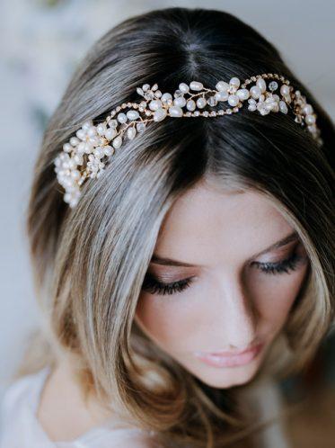 Elegant hair vines for brides