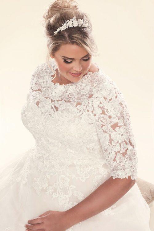 Long sleeve Lace jacket for wedding dresses