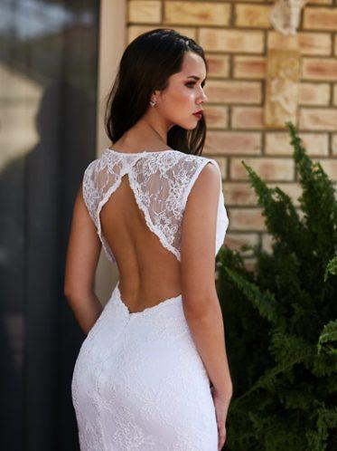 Backless deb dress Tamworth gown