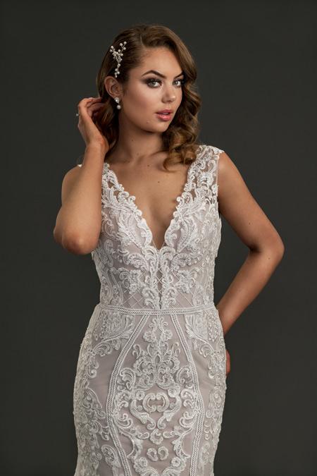 Alexia lace mermaid Wedding gown