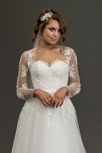 Lace-bridal-jackets long sleeve