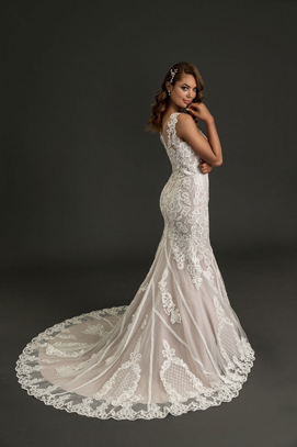Alexia lace mermaid wedding gown