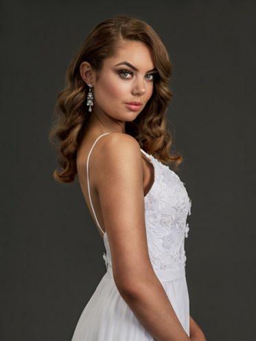 Chiffon debutante Dress