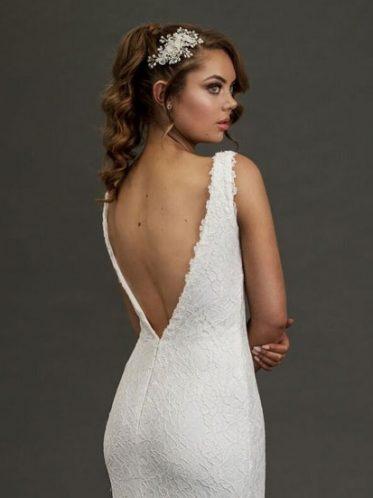 Eildon low back backless dress