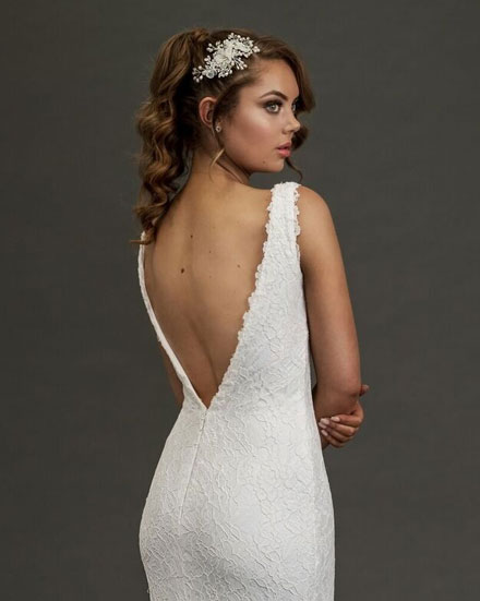 Eildon low back backless style