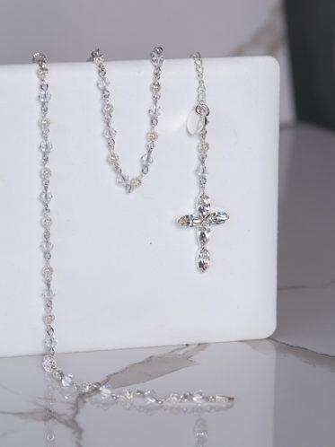 Triple Rosary bracelet for wedding