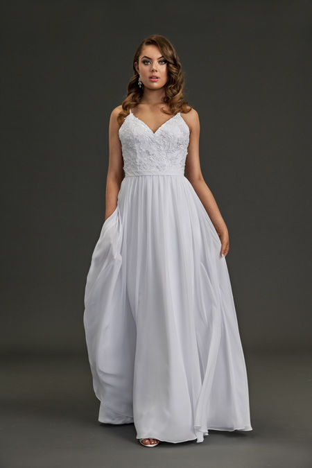 Head to Toe Bling Wedding Dresses