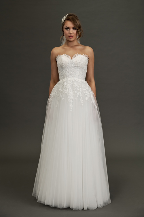 sweetheart neckline wedding dresses Melbourne