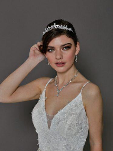 Affordable wedding dress jewelry