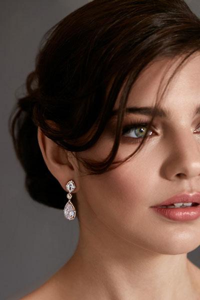 Wedding dress earrings Aria