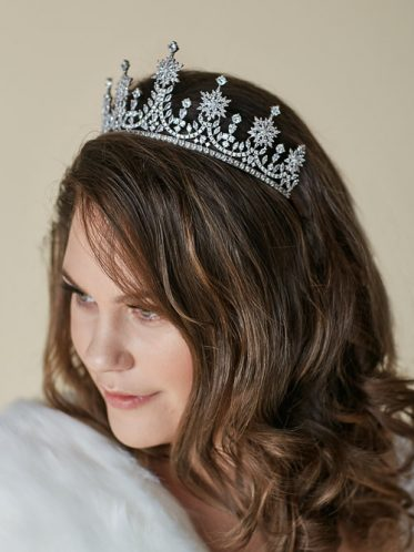 Large bridal tiara