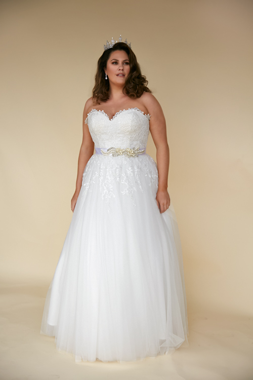 Plus Size Angel best weddingdress