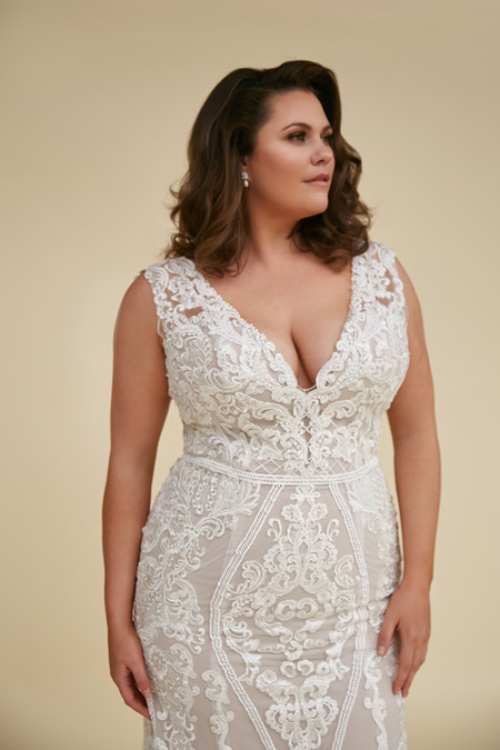 Plus size mermaid dresses Alexia