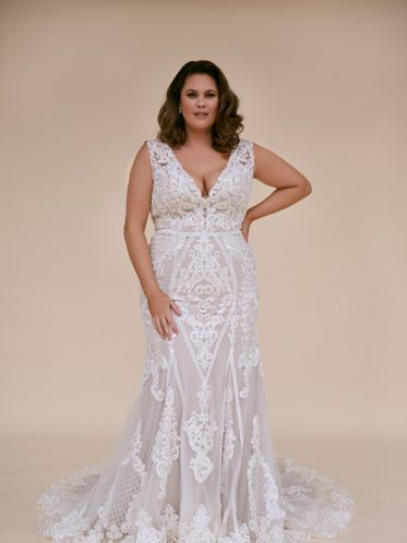 Plus Size mermaid dress Melbourne wedding dresses