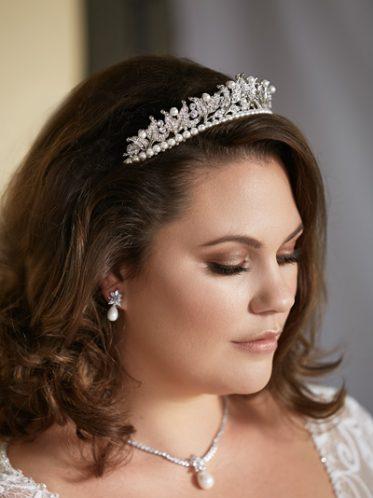 Victoria pearl tiara