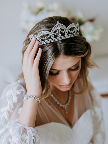 Tiaras and bridal crowns