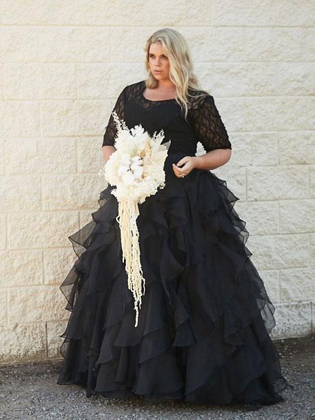 Venice black wedding dresses