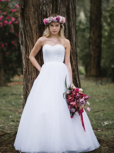 Dream wedding dress Leah S Designs