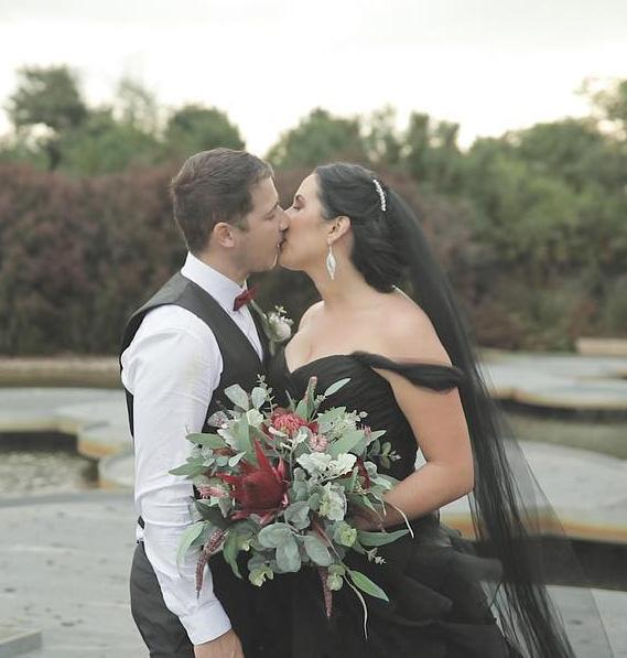 Cranbourne gardens wedding