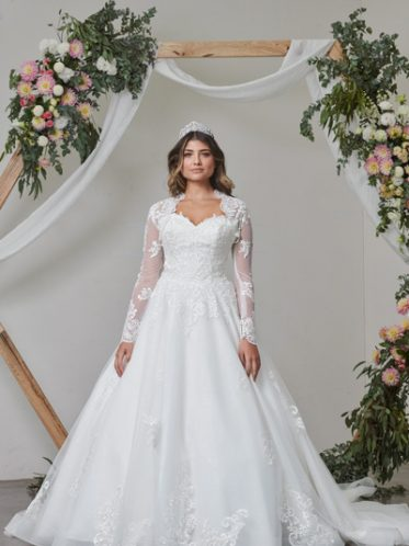 Ballroom bridal gowns