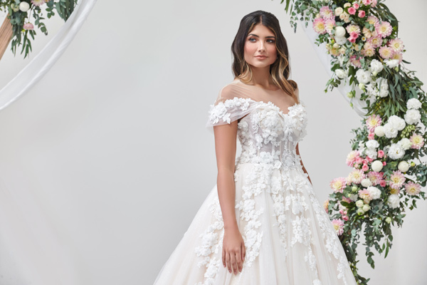 High fashion couture style bridal