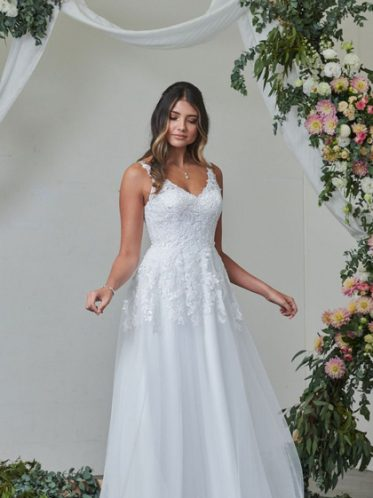 Gorgous casual wedding dress
